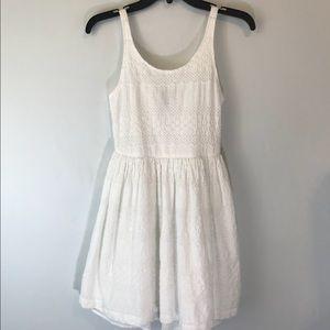 Gap Kids White Eyelet Sleeveless Summer Dress